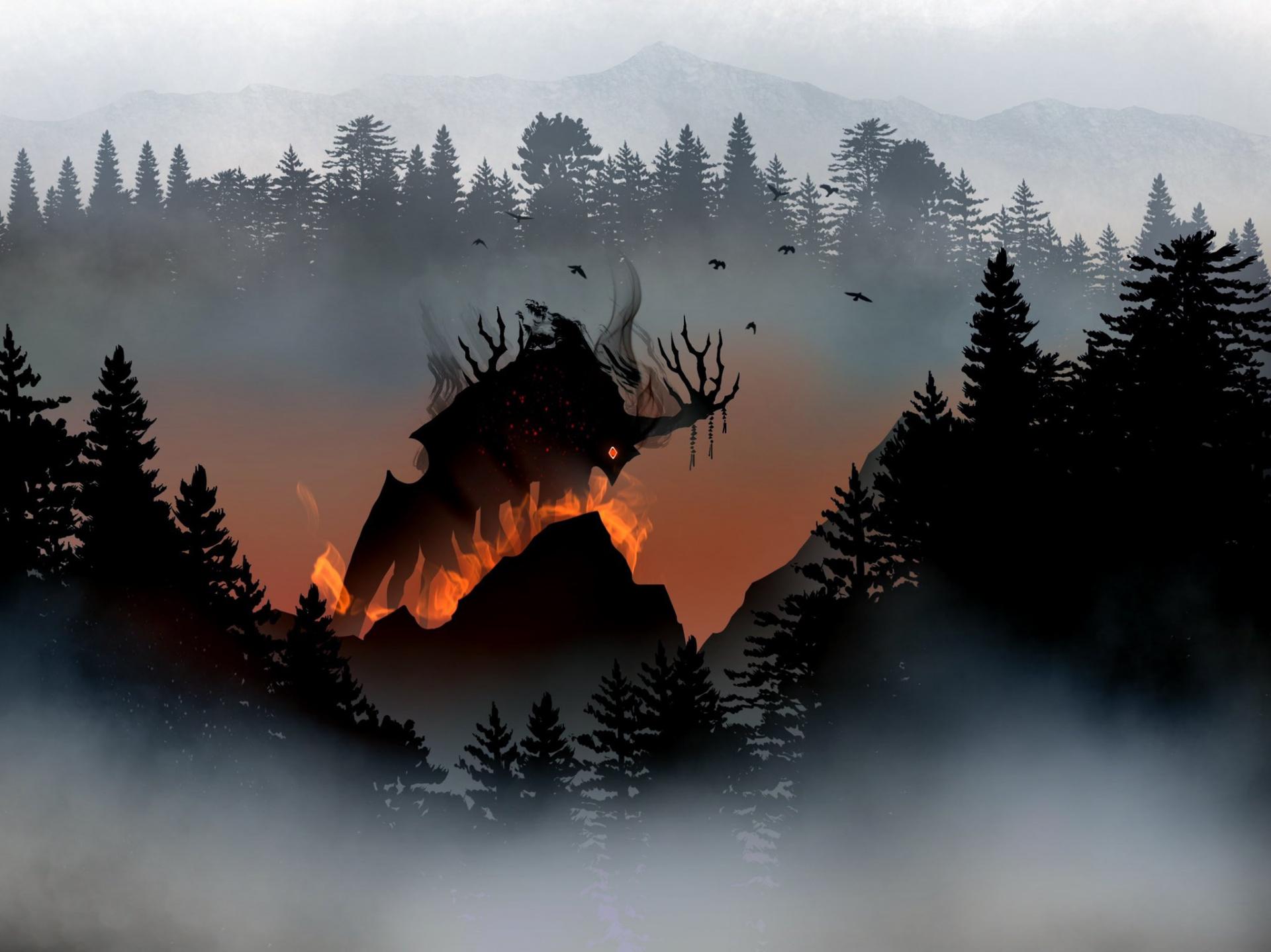Мистическое приключение The Pathless выходит12 ноября