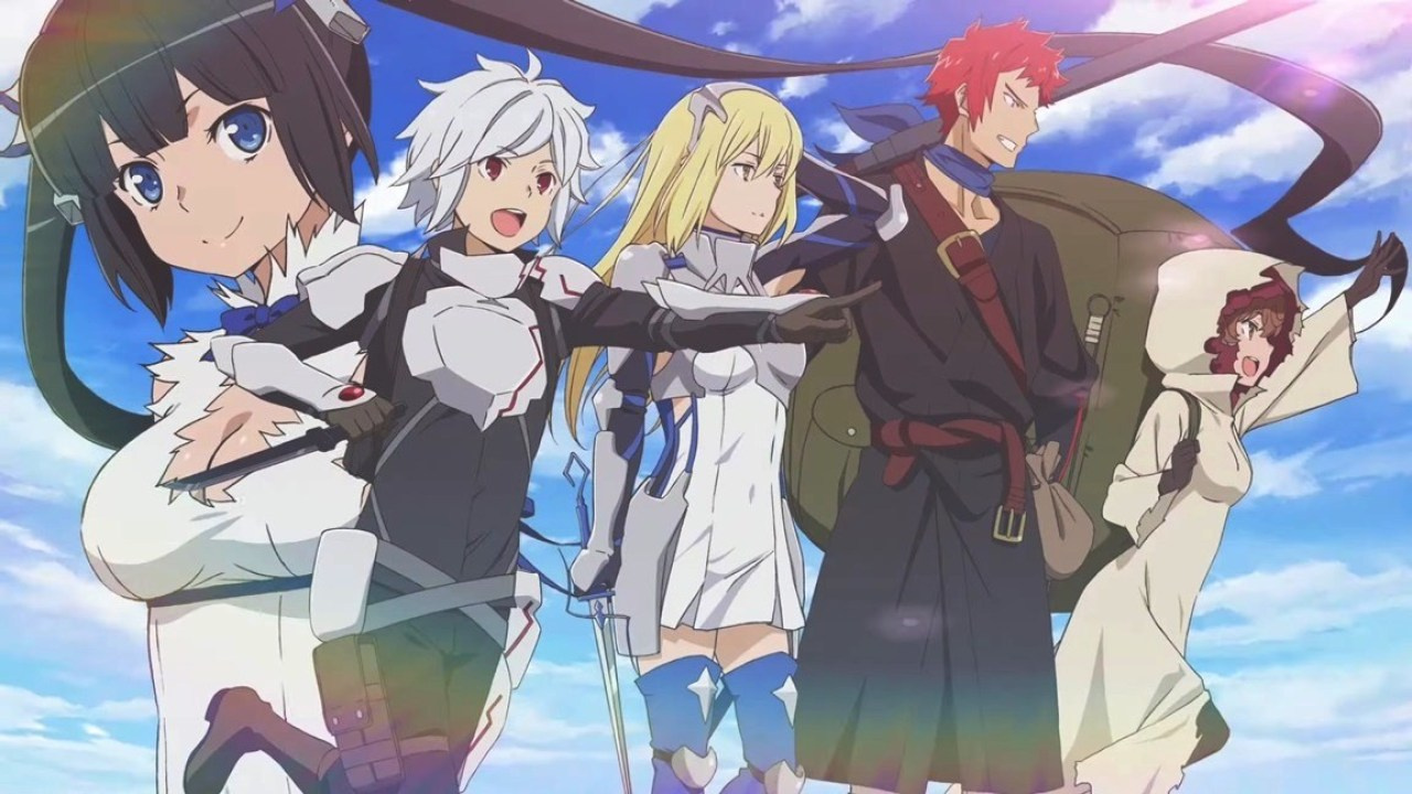 Состоялся консольный релиз Is It Wrong to Try to Pick Up Girls in a Dungeon? — Infinite Combate