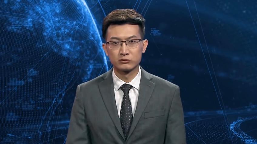 На китайском телевидении появился ИИ-ведущий