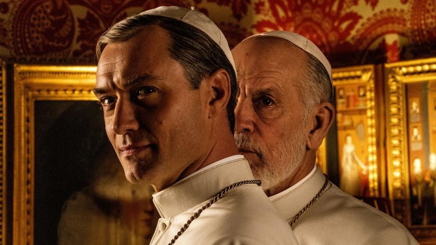 Джон Малкович и Джуд Лоу во втором тизере сериала «Новый папа»