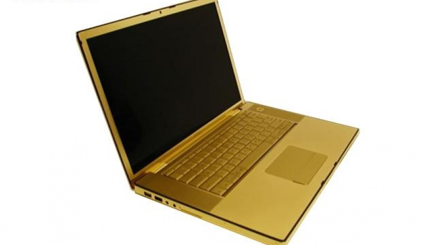 Macbook Pro в золоте