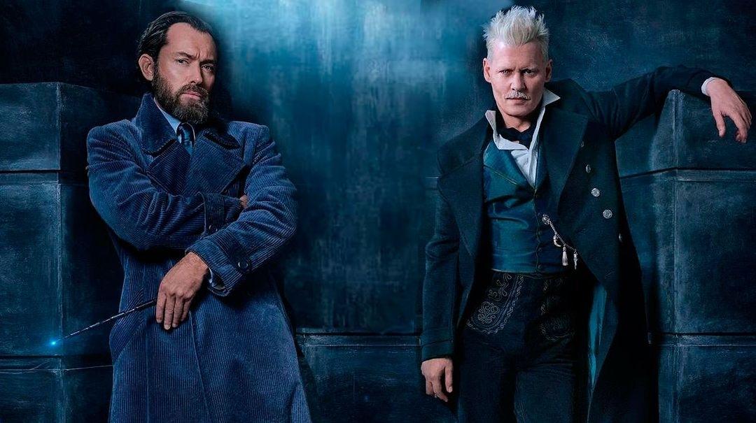 Дамблдор и Грин-де-Вальд: новые кадры из сиквела «Фантастических тварей»