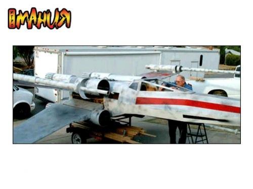 Рабочая реплика X-Wing