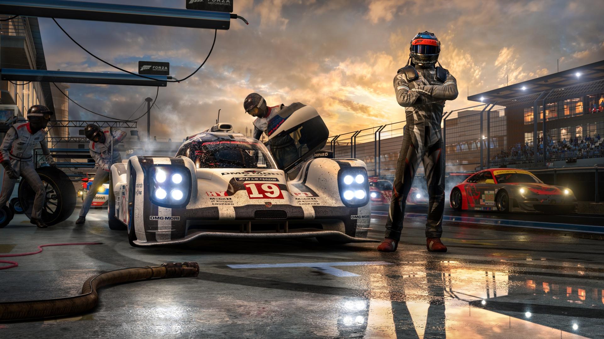 Первые детали Forza Motorsport8, которую анонсируют в 2020 году