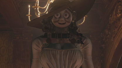 Леди Димитреску из Resident Evil8 превратили в Паровозика Томаса — новый мод