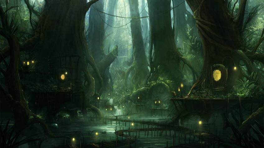 Hobby World выпустило игровое поле «Болото» для настольной RPG Pathfinder
