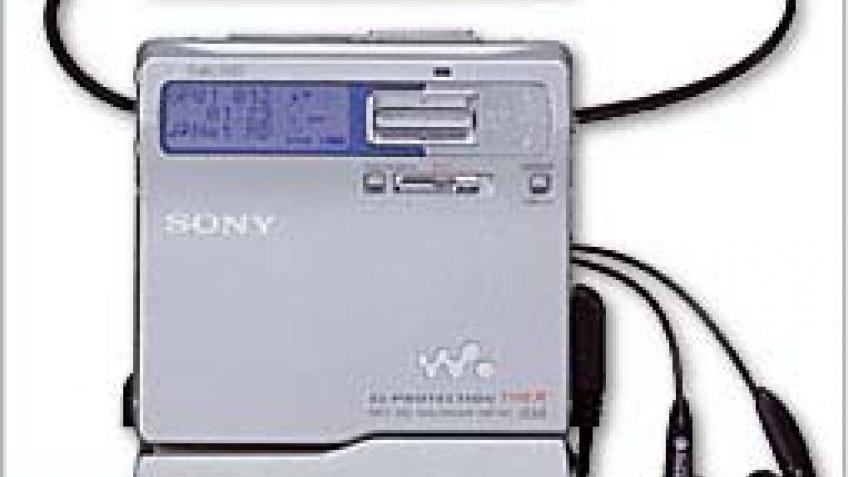 Новые MD от Sony