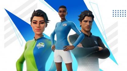 В Fortnite добавят форму 23 футбольных клубов