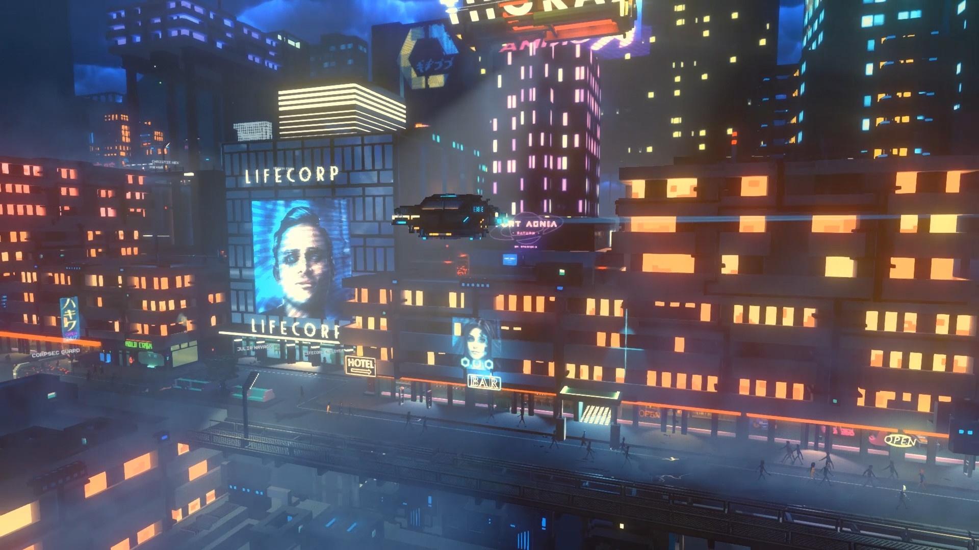 На EGX Berlin показали игровой процесс Cloudpunk
