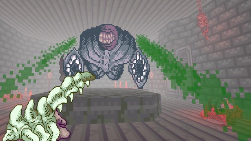 Модификация Shrine превращает Doom2 в мрачный комикс в стиле Лавкрафта