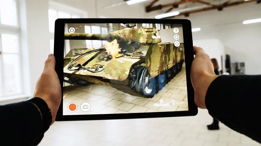 World of Tanks выходит в дополненную реальность