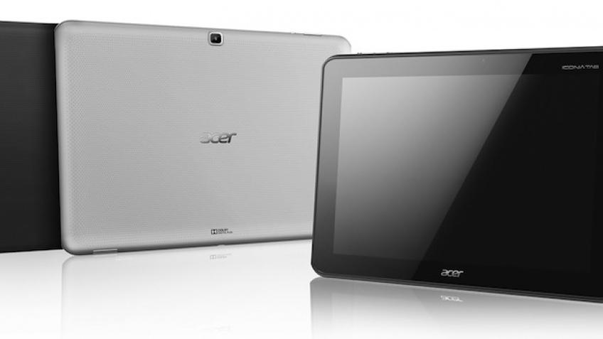Acer представила мощный планшетный компьютер А700