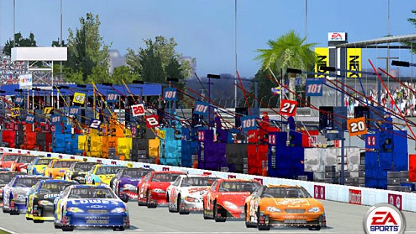 Золотой NASCAR
