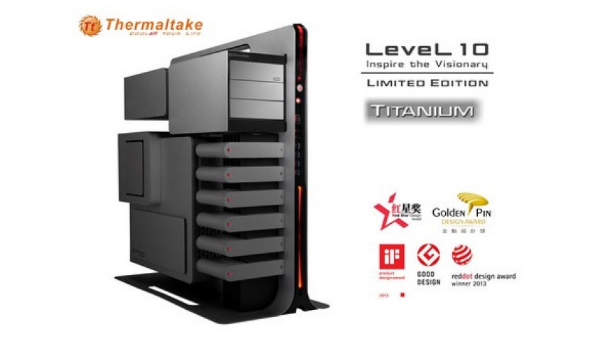Thermaltake готовит корпус Level 10 Titanium Limited Edition
