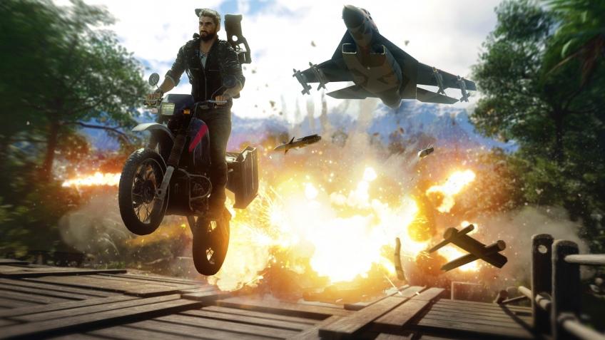 Создатели Just Cause4 наконец-то показали консольные версии боевика