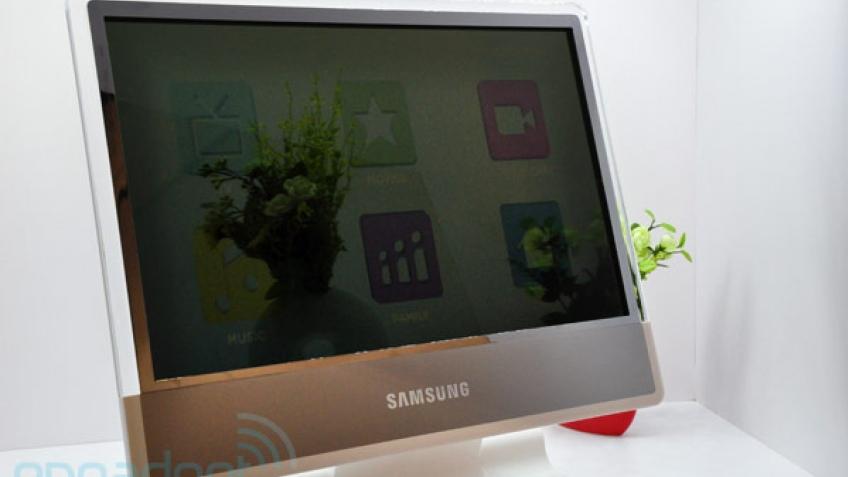 Samsung официально представила прозрачный телевизор