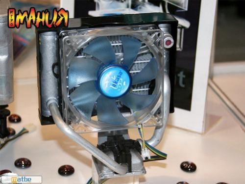 Воздушно-жидкостный кулер для процессора от Akasa