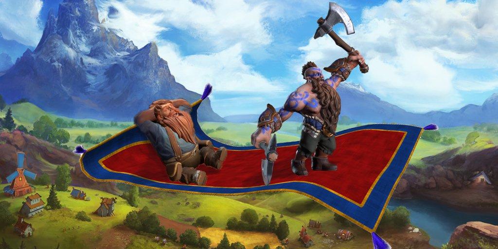 DwarfHeim выходит в ранний доступ22 октября