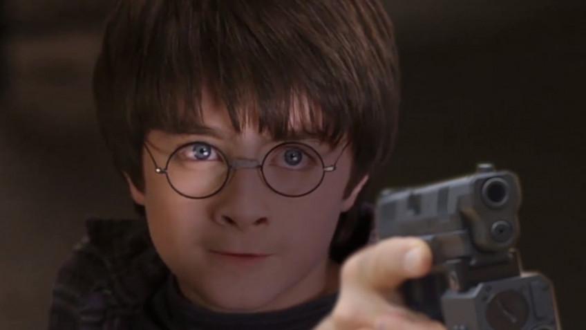 В новом ролике по «Гарри Поттеру» палочки заменили огнестрельным оружием