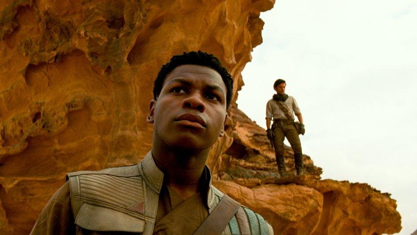 Летающие штурмовики в новом фрагменте девятого эпизода «Звёздных войн»