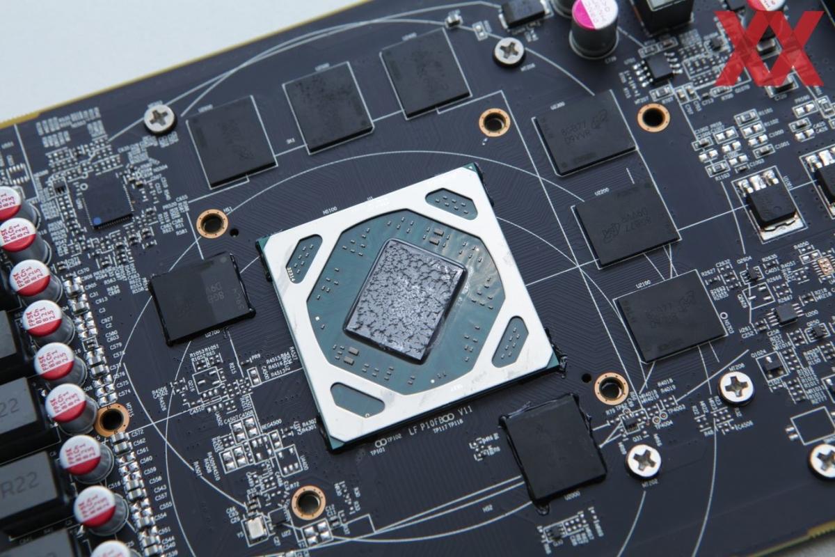 Графический чип AMD Radeon RX 590 разогнали до2 ГГц