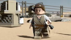 Новый трейлер «LEGO Звездные войны: Пробуждение Силы» посвятили Рей