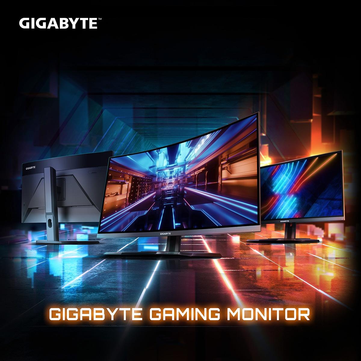 Gigabyte представила три игровых монитора