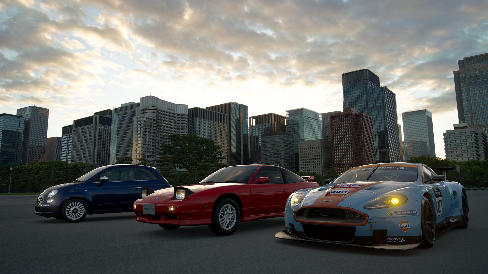 В Gran Turismo Sport добавили три новых автомобиля