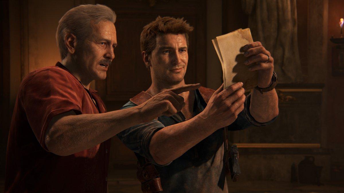Появились фото со съёмок Uncharted — у Салли нет фирменных усов