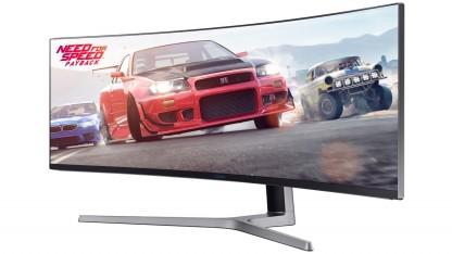 Samsung выпустила игровой монитор C49HG90 с соотношением сторон 32:9