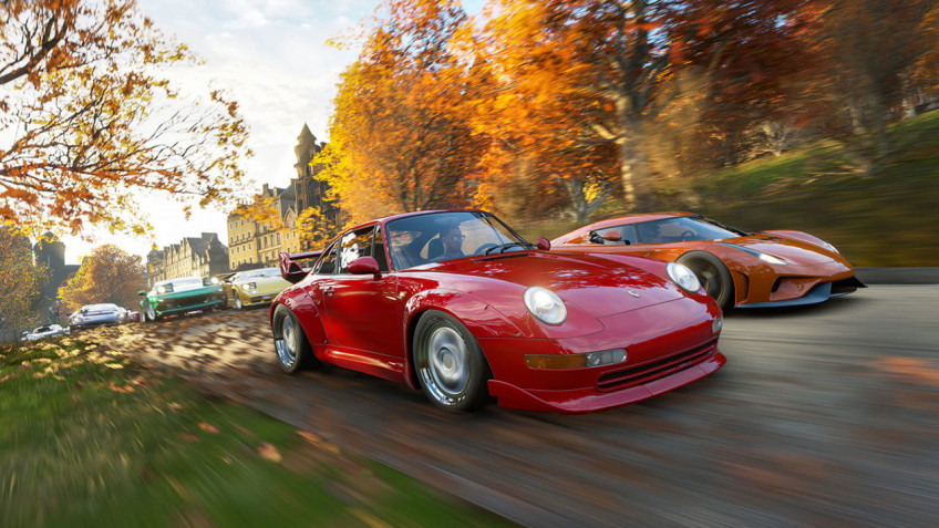 Forza Horizon4 доберётся до Steam уже9 марта
