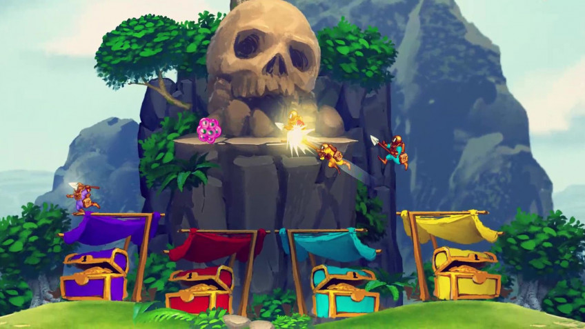 Приключенческий боевик Aqua Lungers вышел на Nintendo Switch