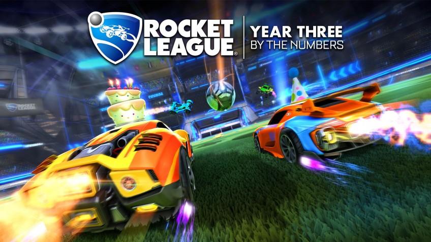 Rocket League можно смотреть на Twitch десять тысяч лет