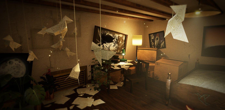 В A Tale of Paper бумажный мальчик будет складывать себя в оригами