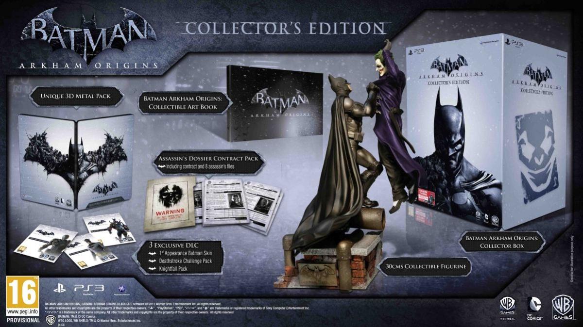 На консолях выйдет коллекционная версия Batman: Arkham Origins