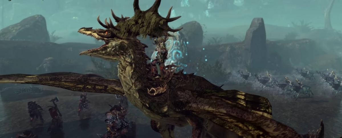 Разработчики Total War: Warhammer представили властителей полян и лесных драконов
