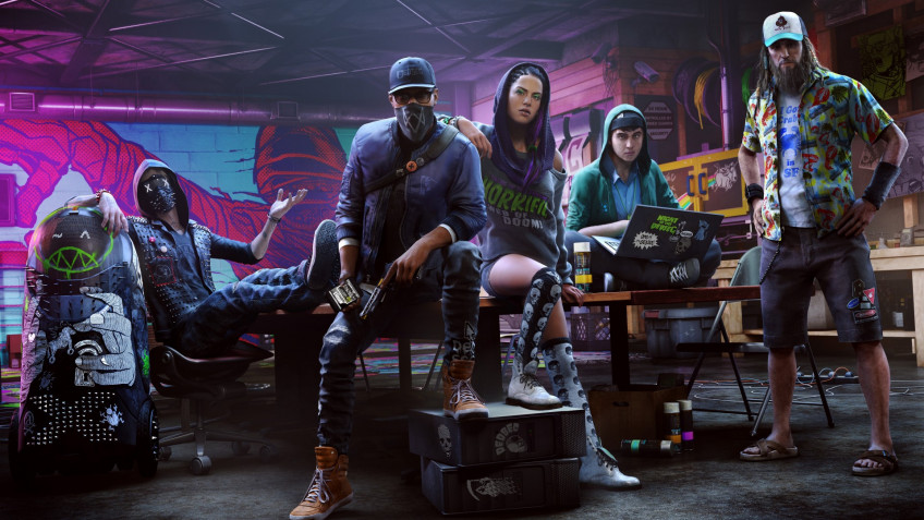 Ubisoft наконец начала бесплатную раздачу Watch Dogs2