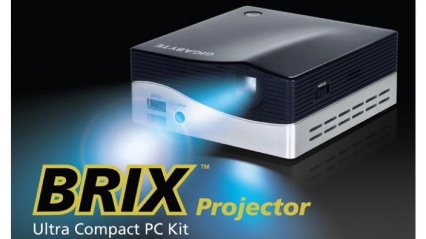 Gigabyte выпустила мини-компьютер Brix с проектором