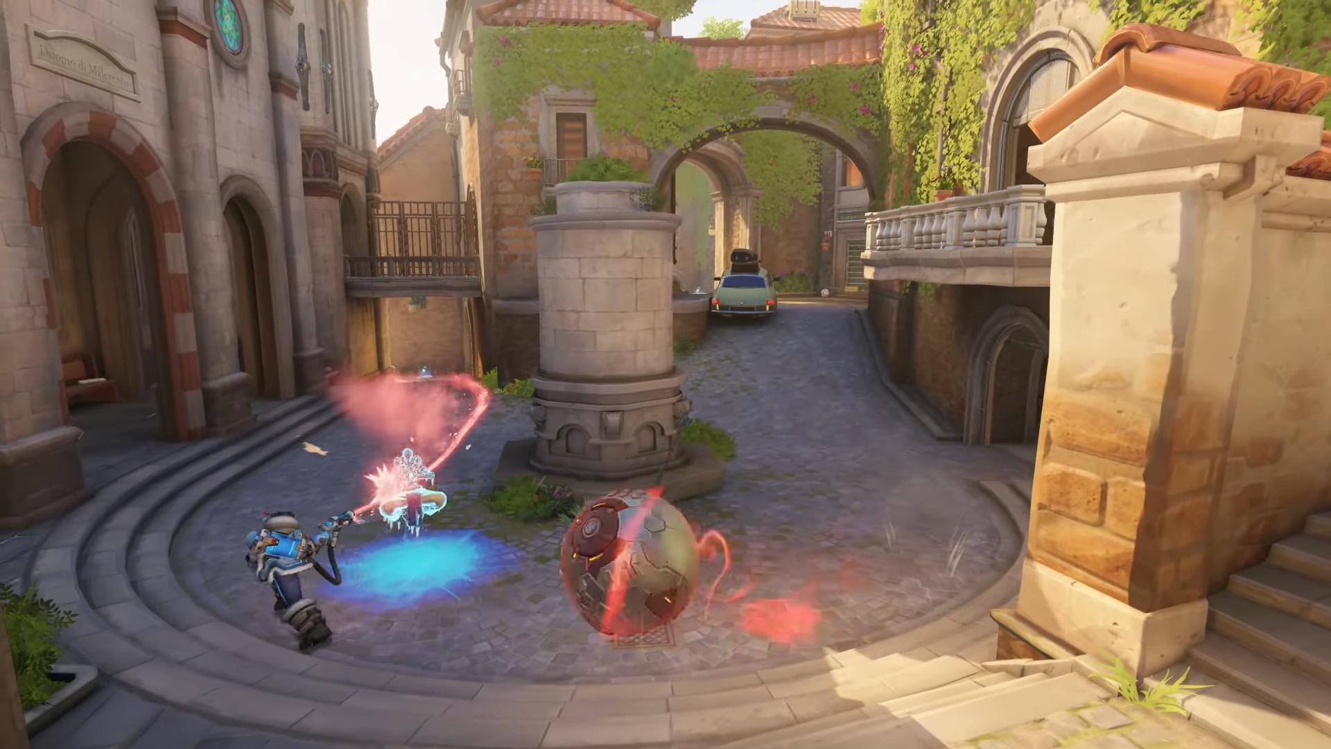 Авторы Overwatch выпустили новую карту для матчей Malevento