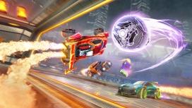 Для Rocket League представили временный режим с самонаводящимся мячом