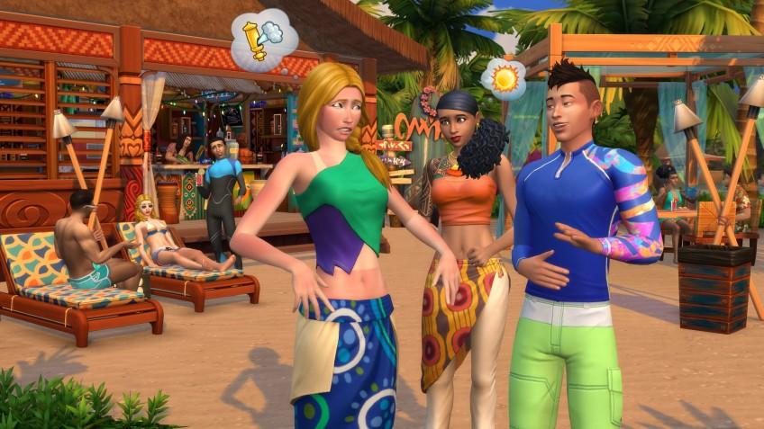 EA устроила прогулку по Сулани из «The Sims 4: Жизнь на острове»