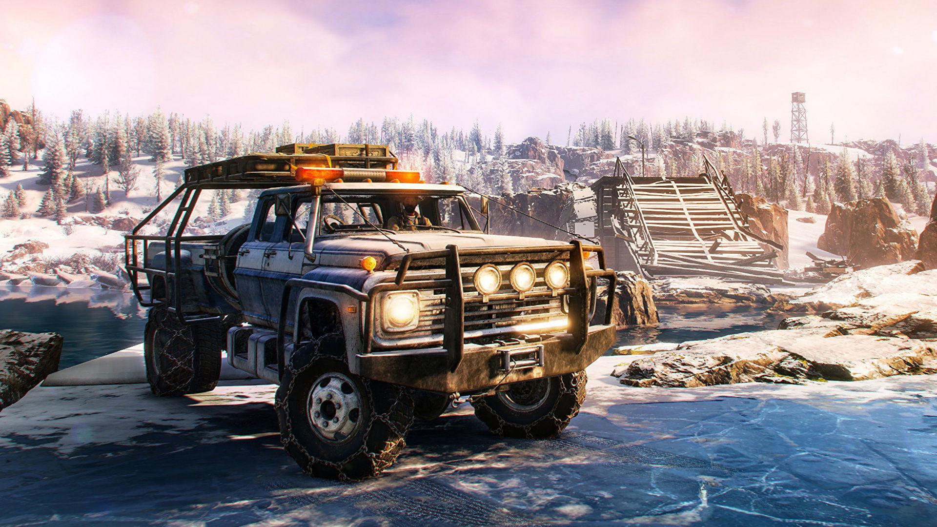 SnowRunner получила новый сезонный абонемент второго года и вышла в Steam