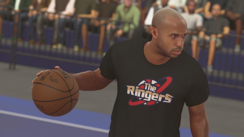 Футболист Тьерри Анри появится в NBA 2K17