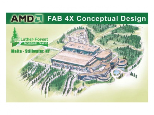AMD все еще планирует фабрику в Нью-Йорке