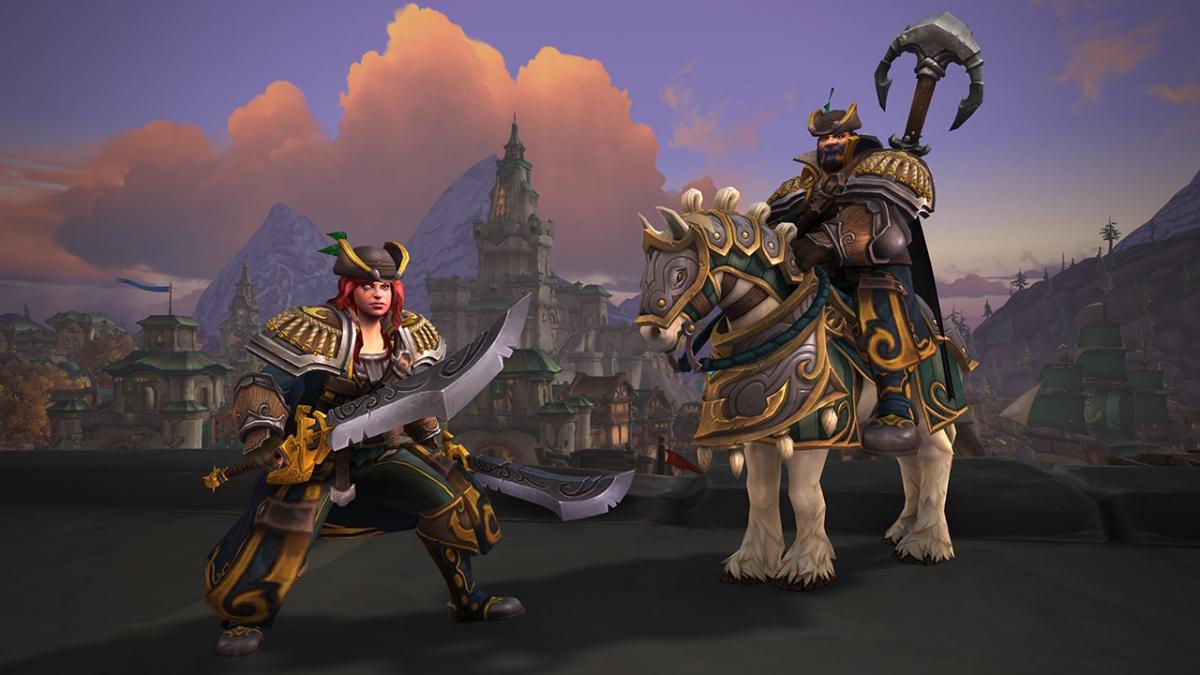 Стала известна дата появления новых союзных рас в World of Warcraft