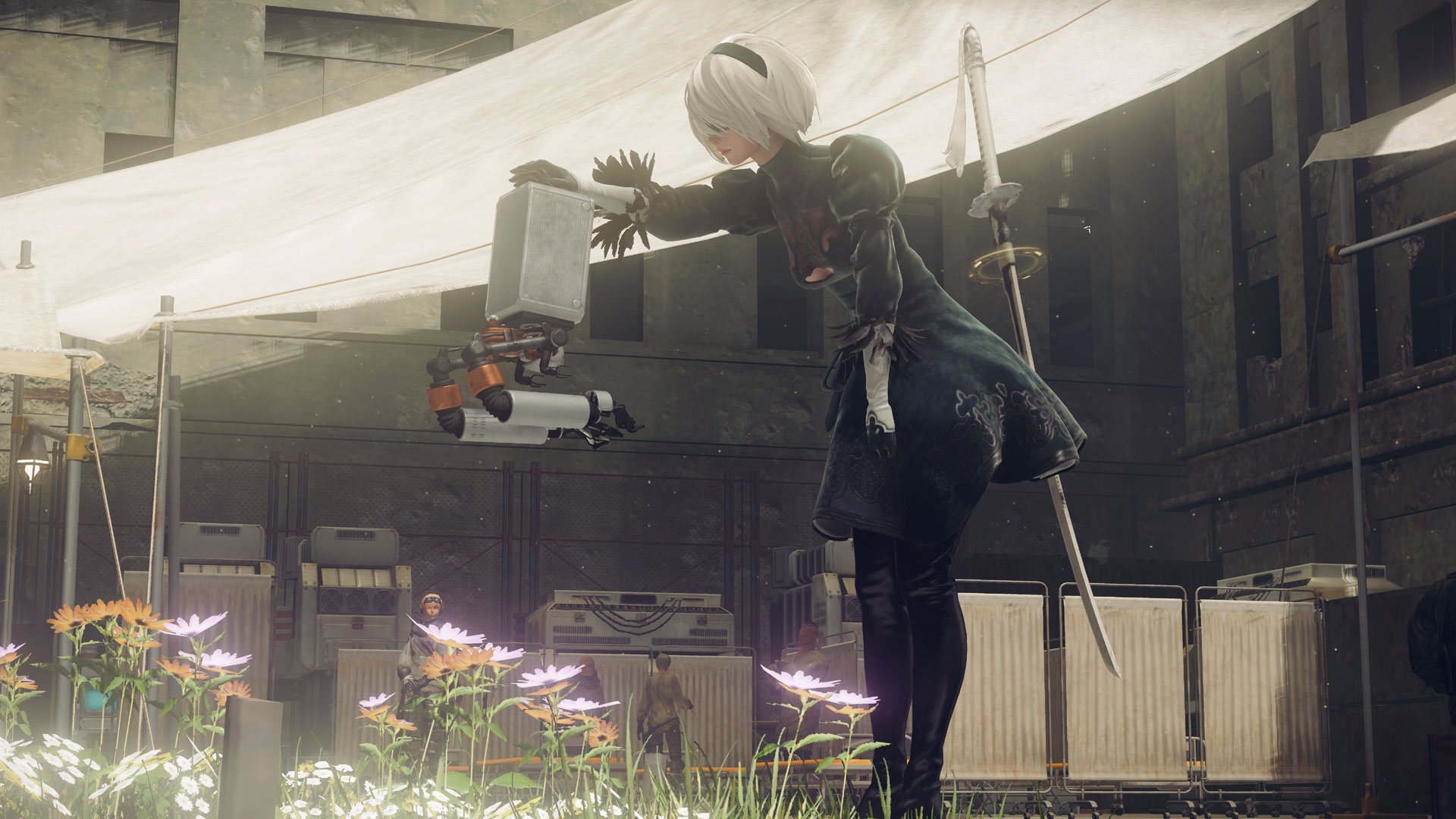NieR: Automata пополнит библиотеку Xbox Game Pass уже2 апреля