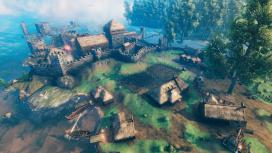Игроки Valheim воссоздают в игре Вайтран из Skyrim