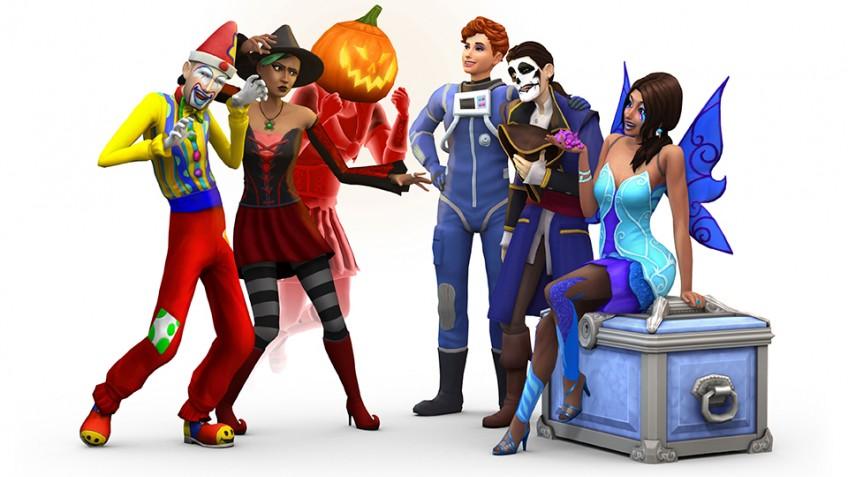 Дополнения к The Sims4 в честь Хэллоуина отдают за полцены