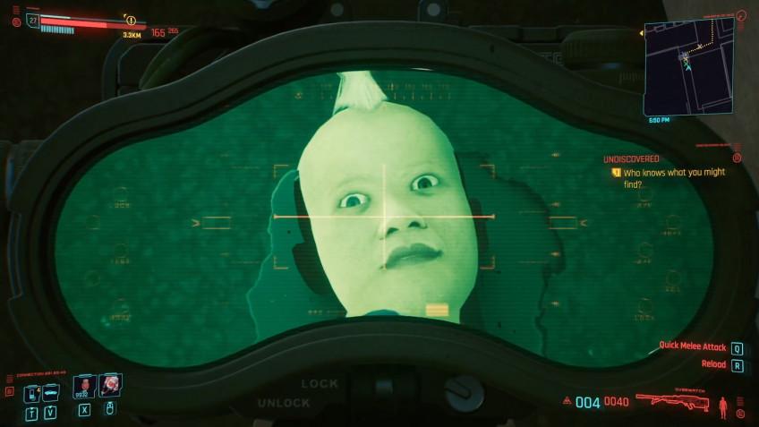 Глаза у отрубленных голов в Cyberpunk 2077 продолжают следить за игроком