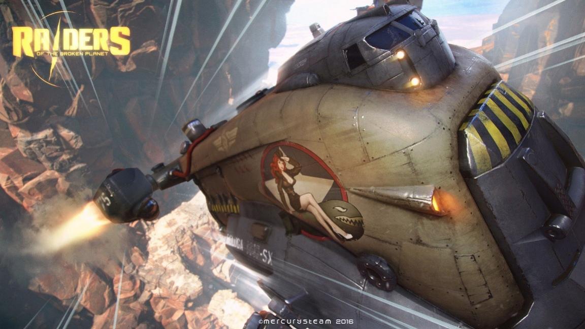 Авторы Castlevania: Lords of Shadow анонсировали игру Raiders of the Broken Planet